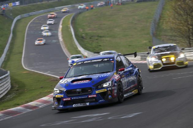 スバル 新型WRX STI/2014 ニュルブルクリンク24時間耐久レース