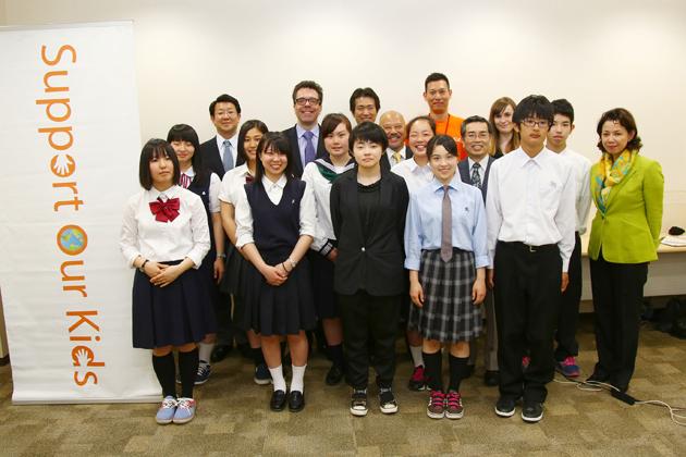 20140612 マツダ、東日本大震災被災児童自立支援プロジェクトSupport Our Kids「第4回海外ホームステイプログラム」を支援