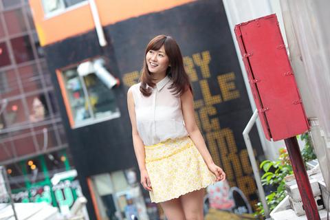 京都出身の葵チャン、「ふふっ、渋谷で買い物したかったんです!」とご満悦デス。