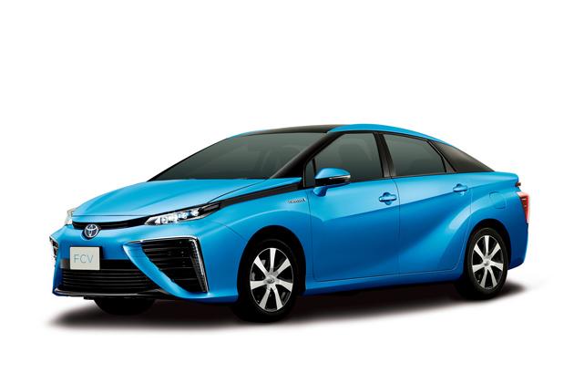 トヨタ 新型燃料電池自動車(FCV)