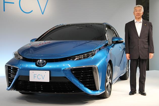 トヨタ 新型燃料電池自動車(FCV)新型車速報
