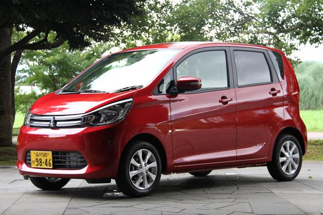三菱 eKワゴン(2014年6月一部改良モデル)