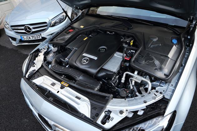 メルセデス・ベンツ 新型Cクラス[2014年モデル/欧州仕様車] エンジン ※写真は海外試乗の時のもの