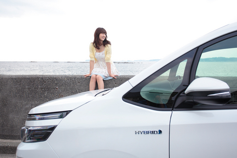 「葉山ドライブ、超サイコー!」と喜ぶ葵ちゃん