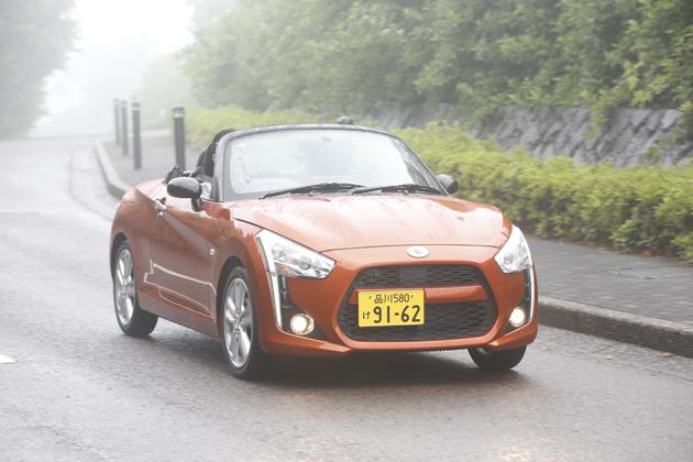 ダイハツ 新型 コペン(コペン ローブ)[DAIHATSU NEW COPEN ROBE] 試乗レポート/竹岡圭 4