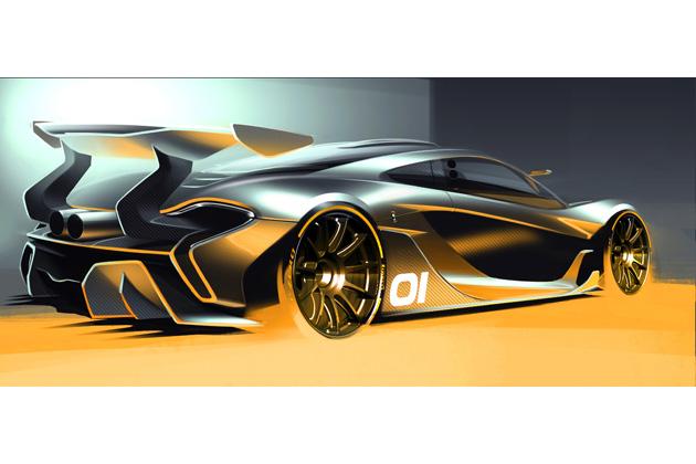 McLaren P1(TM) GTR