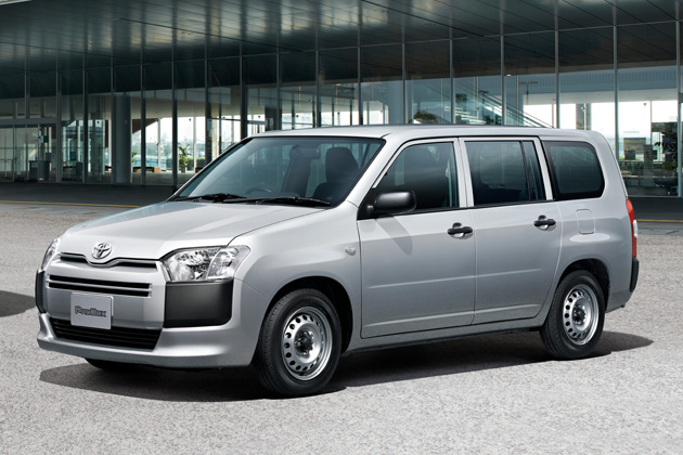 トヨタ プロボックス&サクシード(2014年マイナーチェンジ)新型車解説
