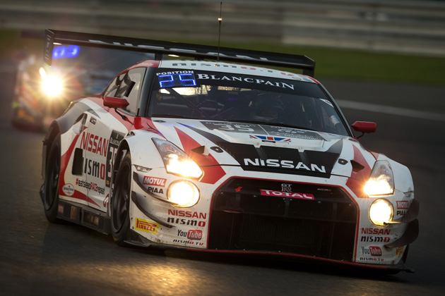 #35 NISSAN GT-R NISMO GT3 <ブランパン耐久シリーズ スパ24時間レース>