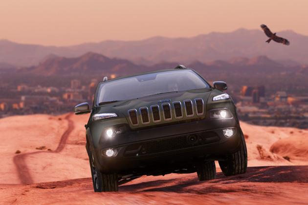 Jeep Cherokee Warrior」(ジープ・チェロキー ウォーリアー)/エクステリア