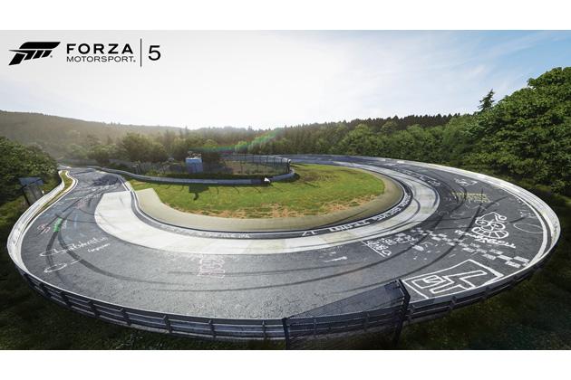 Xbox one用ソフト「Forza Motorsport 5」イメージ