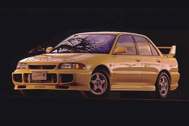 三菱 初代ランサーエボリューションIII(1995年1月発売)