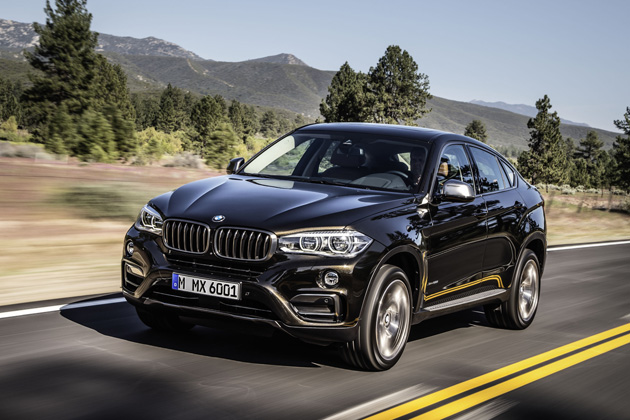 BMW 新型 X6/走行イメージ