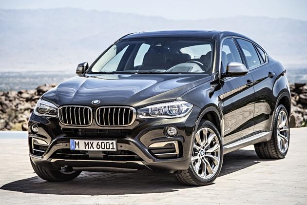 BMW 新型 X6/エクステリア・フロント