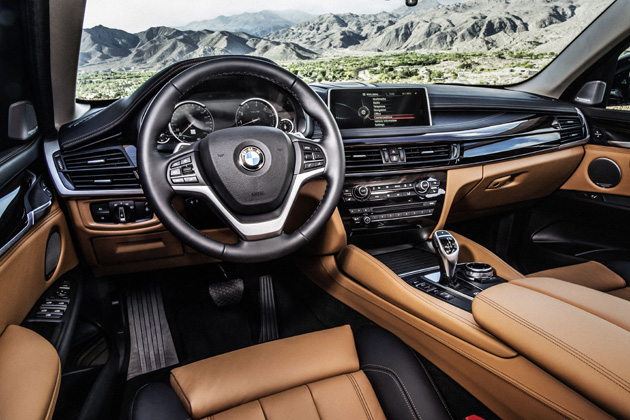 BMW 新型 X6/インテリア・インパネ