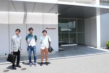 カーナビ「生みの親」パイオニア 畑野一良氏インタビューの為にパイオニア本社へ訪れた学生カーソムリエ