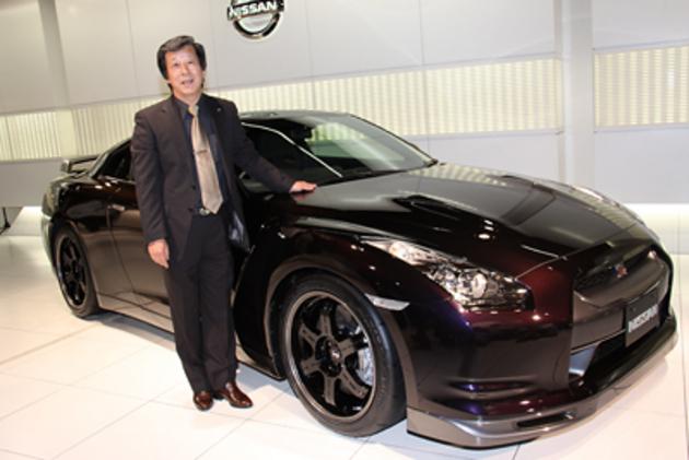 日産 R35 GT-R SpecV 新車発表会速報