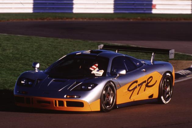 McLaren P1 GTR/走行イメージ