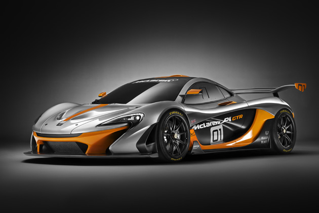 McLaren P1 GTR /エクステリア・フロント