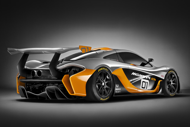 McLaren P1 GTR /エクステリア・リア