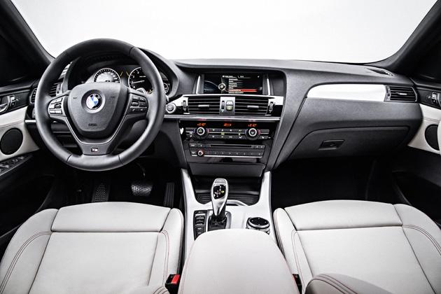 BMW 新型 X4/インテリア・インパネ