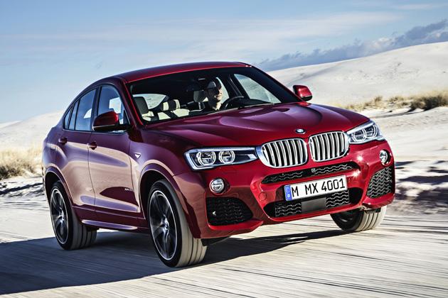 BMW 新型 X4/走行イメージ