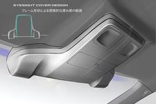 アイサイトVer3のデザイン形状検討用イメージスケッチ案
