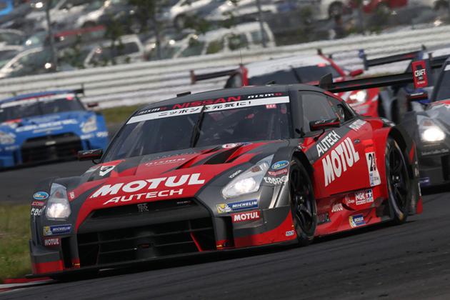 #23 MOTUL AUTECH GT-R (松田 次生/ロニー・クインタレッリ)/スーパーGT2014