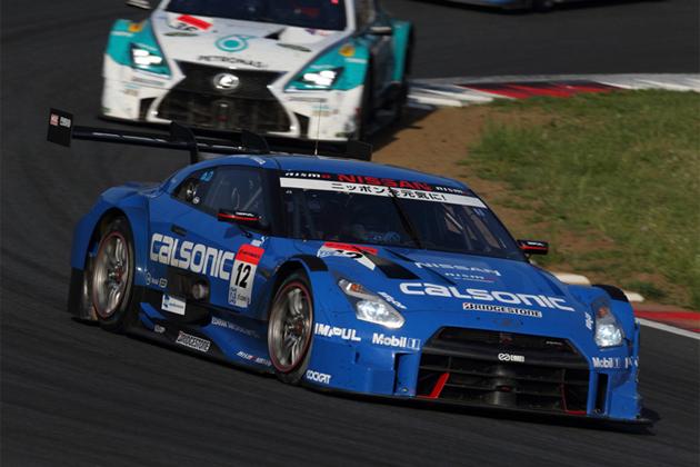 #12 カルソニックIMPUL GT-R (安田 裕信/J.P.デ・オリベイラ)/スーパーGT2014