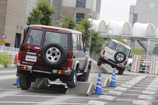 [トヨタ ランドクルーザー70 30周年記念限定車発表イベント「70 COME BACKセレモニー」(2014/08/25)レポート]