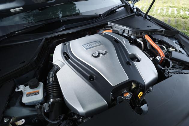日産 スカイラインハイブリッド 350GT