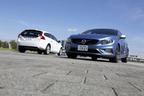 (左)ボルボ V60 特別仕様車「V60 LUXURY EDTION(ラグジュアリー エディション)」[ボディカラー:クリスタルホワイトパール]