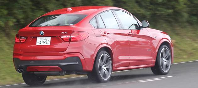 BMW X4 国内初試乗レポート/九島辰也