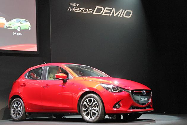 マツダ 新型デミオ 新型車速報 ~セグメントの常識を越えた質感に、新開発エンジン「SKYACTIV-D 1.5」を搭載~