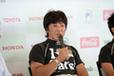「全日本エコドライブチャンピオンシップ2014」にて影山正彦選手
