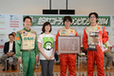 「全日本エコドライブチャンピオンシップ2014」総合優勝のファインモータースクールさん