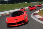 フェラーリの最新スーパーカー「ラ フェラーリ」が一般初公開