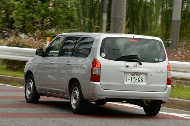 トヨタ 新型 プロボックス バン GL[FF・ボディカラー:シルバーマイカメタリック] 試乗レポート/渡辺陽一郎 4
