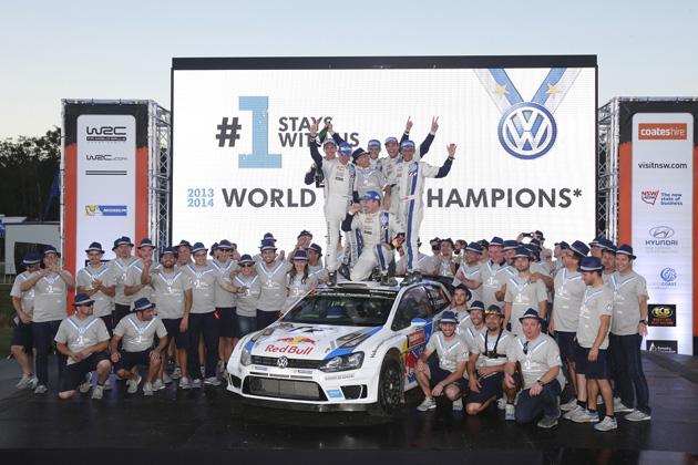 フォルクスワーゲン/FIA世界ラリー選手権(WRC) 第10戦 ラリー・オーストラリア