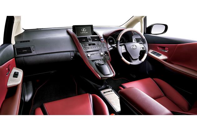 """レクサス HS250h 特別仕様車 """"Harmonious Leather Interior II"""" (レッドスピネル) 〈オプション装着車〉"""