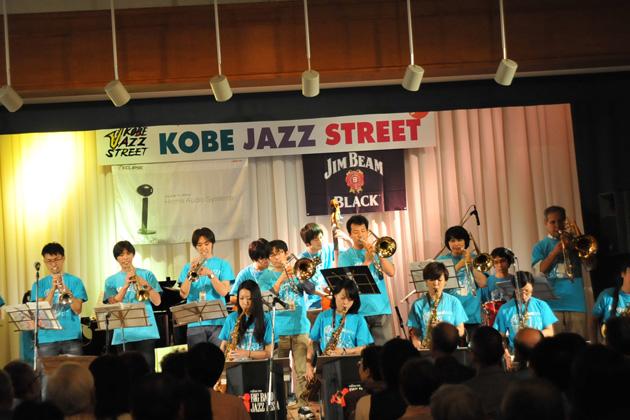 第32回 神戸ジャズストリートの様子
