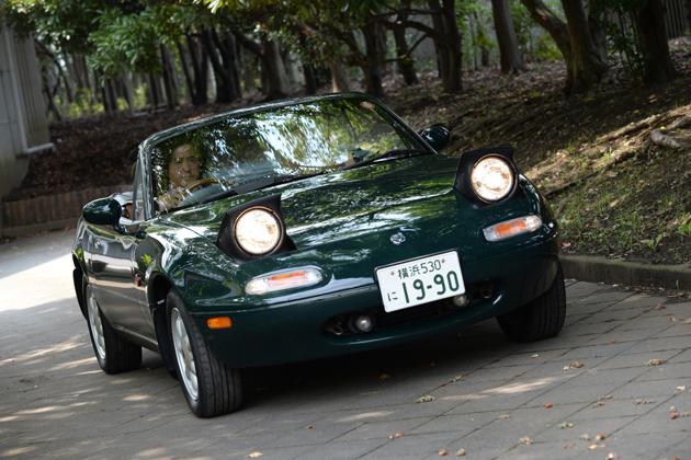 マツダ ロードスター 歴代モデル(NA・NB・NC型)試乗レポート/嶋田智之