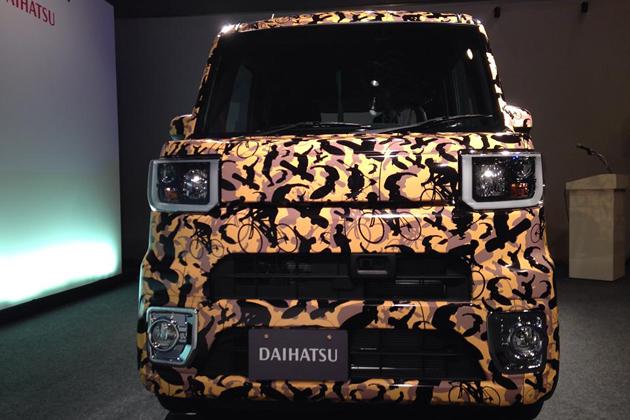 ダイハツ DECADECA(デカデカ)ベースの新型軽自動車 [2014年11月発表予定]