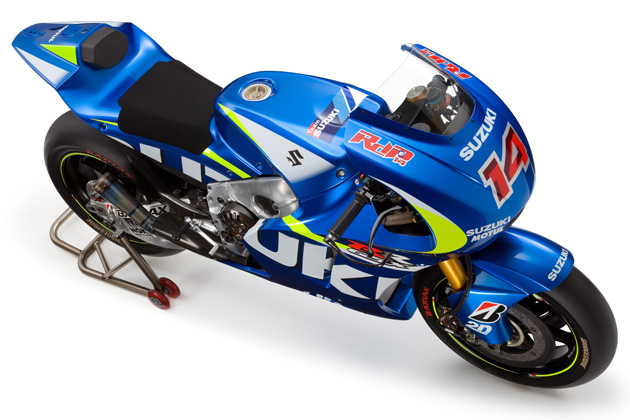 スズキ 「GSX-RR」/2015 ロードレース世界選手権(MotoGP)