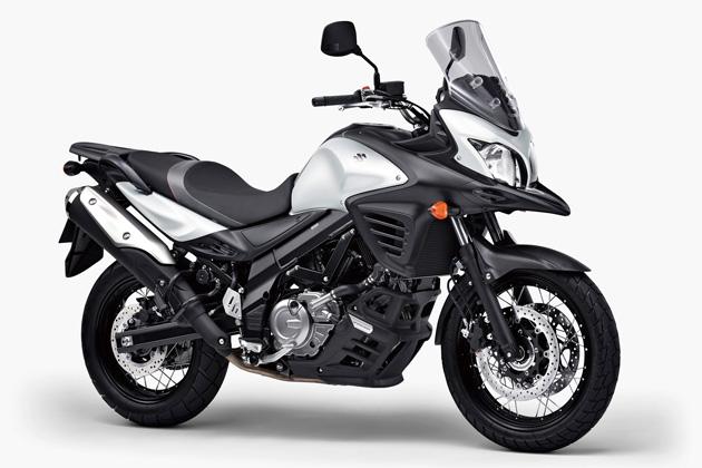 スズキ「V-Strom650XT ABS」/ボディカラー:パールブレーシングホワイト