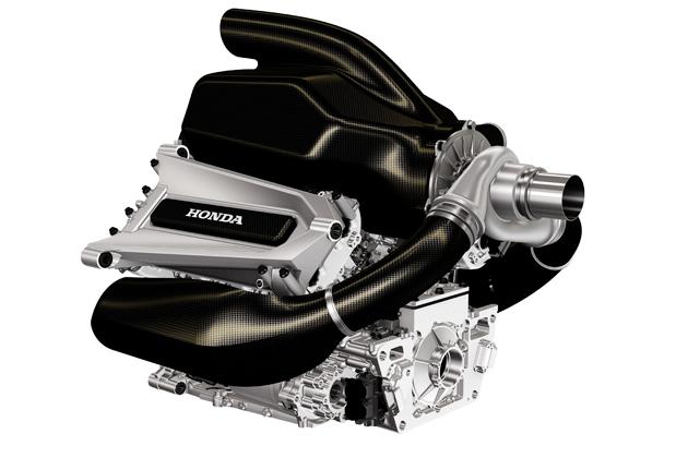Honda F1パワーユニット