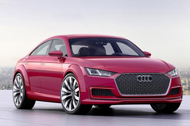 Audi TT Sportback concept / パリモーターショー2014