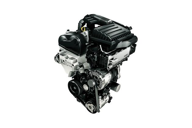 フォルクスワーゲン ポロ ブルーGT/TSI エンジン イメージイラスト