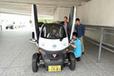 横浜・日産本社にて小沢コージ氏と学生カーソムリエによる「チョイモビ」体験