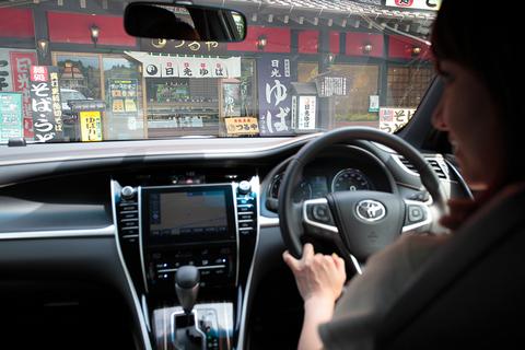ガソリン車でも静粛性はすこぶる高いので快適! 栃木県・日光に着きました!