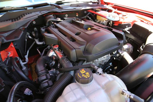 フォード 新型マスタング エコブーストクーペプレミアム(2.3リッター直4エンジン搭載) ※画像は海外仕様